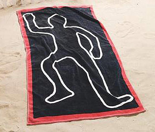 dead body towel