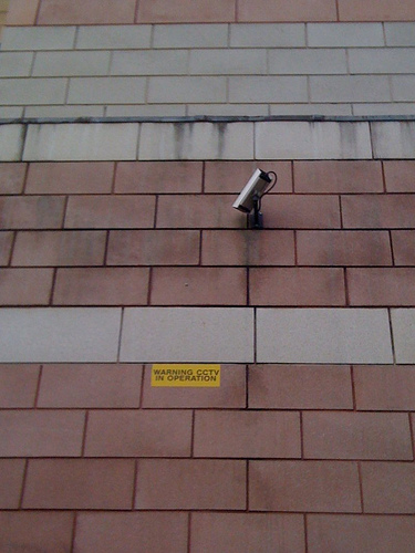 Now that will be one exciting surveillance tape!