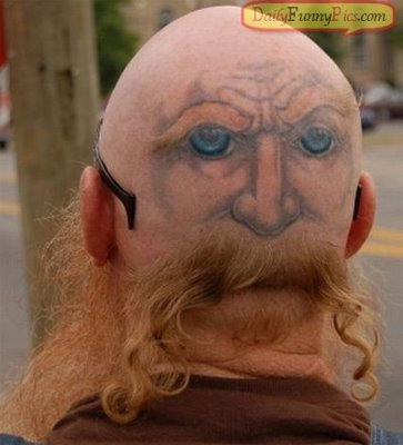 odd tattoos. Funny Tattoos